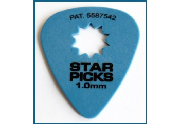 Star Picks Delrin Pick Blue - 1 mm - 1 Adet - Pena