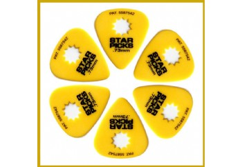 Star Picks Delrin Pack Yellow - 0,73 mm - 6 Adet - Pena
