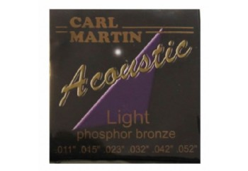 Carl Martin Acoustic Light Strings Takım Tel - Akustik Gitar Teli 011-052