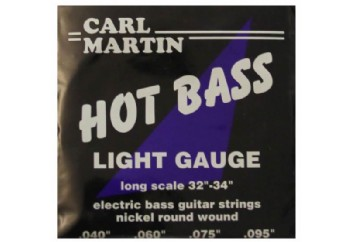 Carl Martin Hot Bass Light Strings Takım Tel - Bas Gitar Teli 040-095
