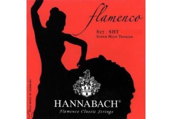 Hannabach 8278 SHT Flamenco Classic, 3-Treble Set Alt 3 Tel - Flamenko Gitar Teli