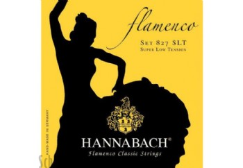 Hannabach 8278 SLT Flamenco Classic, 3-Treble Set Alt 3 Tel - Flamenko Gitar Teli