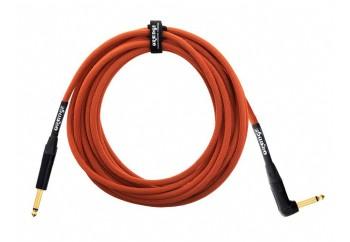 Orange 6mt Gitar Kablosu (düz/L) 6 Metre - Enstrüman Kablosu (6 mt)