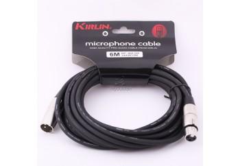 KIRLIN MP480 BK (10 metre) - Mikrofon Kablosu