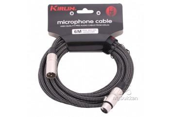 KIRLIN MW480 BK (6 metre) - Mikrofon Kablosu