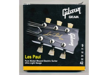 Gibson SEG-LP9 Nickel Plated Extra Light Takım Tel