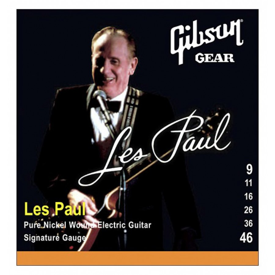 Gibson SEG-LPS Les Paul Signature Nickel Wound