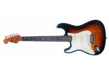 SX SST62+/LH 3TS - 3 Tone Sunburst - Solak Elektro Gitar
