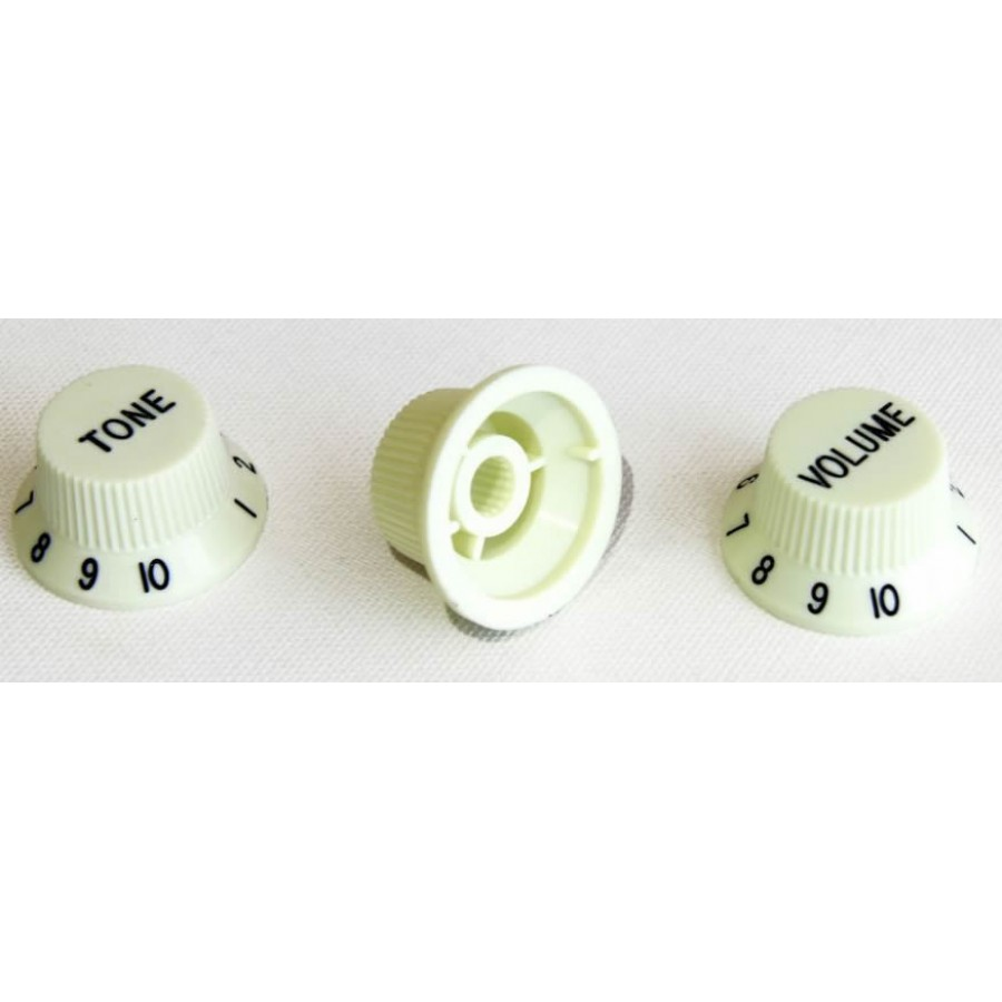 Guitar Tech Strat Style Control Knobs