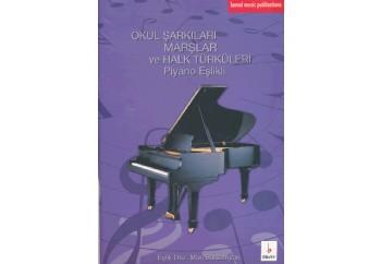Okul Şarkıları Marşlar ve Halk Türküleri Kitap - Mari Barsamyan