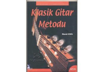 Klasik Gitar Metodu Yeni Başlayanlar için ve Geliştirmek İsteyenler için Kitap - Murat Cemil