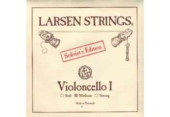 Larsen Soloist for Cello A (La) - Soloist Edition Tek Tel (Medium) - Çello Teli