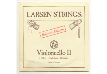 Larsen Soloist for Cello D (Re) - Soloist Edition Tek Tel (Strong) - Çello Teli