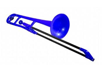 Jiggs pBone Plastic Trombone Mavi - Plastik Trombon