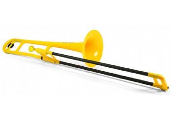Jiggs pBone Plastic Trombone Sarı - Plastik Trombon