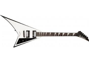 Jackson JS32T Rhoads Hardtail White With Black Bevels - Elektro Gitar
