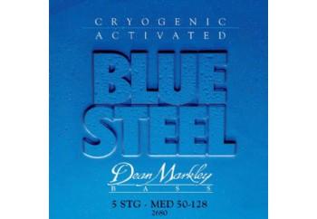 Dean Markley Blue Steel Bass 2680 5-MED Takım Tel - Bas Gitar Teli 050-128
