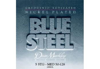 Dean Markley Blue Steel NPS Bass 2680A MED Takım Tel - 5 Telli Bas Gitar Teli 050-128