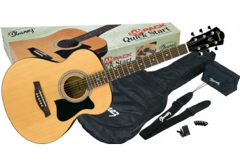 Ibanez VC50NJP Jampack NT - Natural - Akustik Gitar Seti