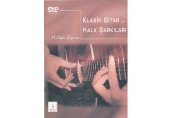 Klasik Gitar için Halk Şarkıları Kitap - M.Safa Yeprem