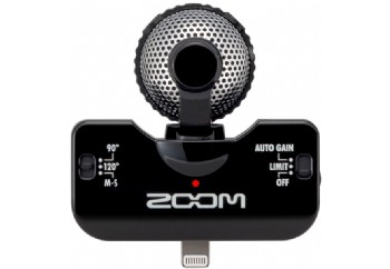Zoom iQ5 Black - iPhone/iPod touch/iPad için Kayıt Mikrofonu