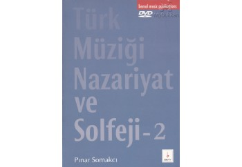 T. Müziği Nazariyat ve Solfeji 2 - DVD'li Kitap