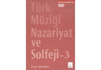 T. Müziği Nazariyat ve Solfej 3 - DVD'li Kitap - Pınar Somakçı