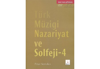T. Müziği Nazariyat ve Solfeji 4 - DVD'li Kitap - Pınar Somakçı