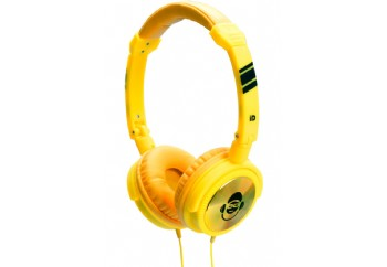 iDance JOCKEY Series Portable Headphones Yellow - Kulaklık