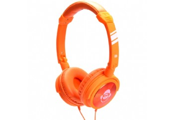 iDance JOCKEY Series Portable Headphones Orange - Kulaklık