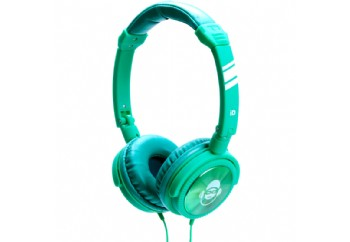 iDance JOCKEY Series Portable Headphones Green - Kulaklık