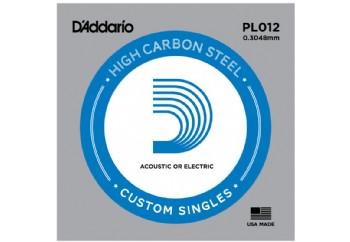 D'Addario EJ21 Nickel Wound, Jazz Light, 12-52 PL012 mi Tek Tel