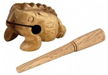Nino NINO517 Wood Frog Guiro X-Small - Mini Guiro