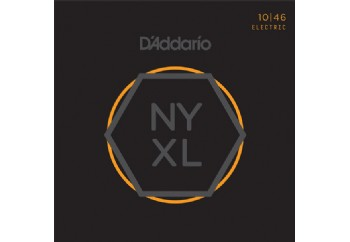 D'Addario NYXL1046 Nickel Wound, Regular Light, 10-46 Takım Tel - Elektro Gitar Teli 010-046