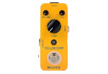 Mooer Yellow Comp Optical Compressor - Compressor Pedalı