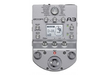 Zoom A3 Acoustic Guitar Preamp and Effects Processor - Akustik Gitar Prosesör