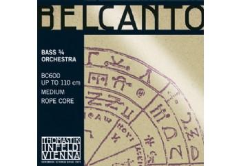 Thomastik BC600 Belcanto Bass 3/4 Set Takım Tel - Kontrbas Teli