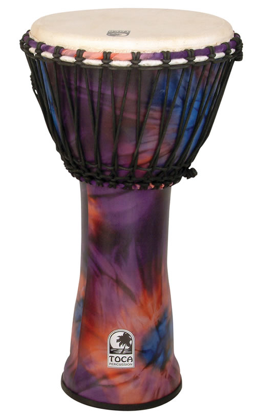 toca percussion sfdj 12 freestyle rope tuned 12 39 39 djembe. Black Bedroom Furniture Sets. Home Design Ideas