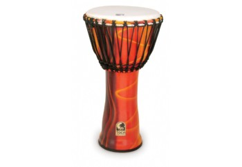 Toca Percussion SFDJ-12 Freestyle Rope Tuned 12'' Djembe F - Fiesta - 12 inch