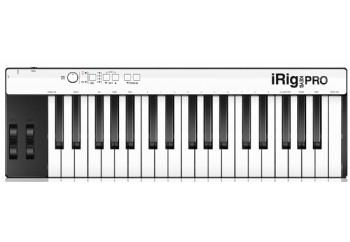 IK Multimedia iRig Keys Pro - iPad, iPhone, iPod touch ve Mac/PC için MIDI Klavye