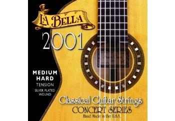 La Bella 2001 MH - Medium Hard Takım Tel - Klasik Gitar Teli