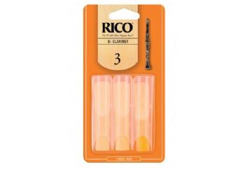 Rico Royal RCA03 Bb Clarinet Reeds 3 - Bb Klarnet Kamışı (3'lü Paket)