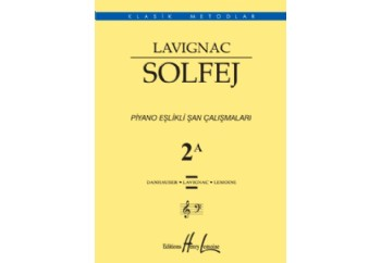 Lavignac 2A Piyano Eşlikli Kitap - Henry Lemoine