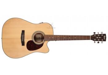 Cort MR600F Satin Natural - Elektro Akustik Gitar
