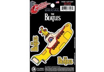 Planet Waves Beatles Guitar Tattoo , Yellow Submarine GT77207 - Gitar Sticker