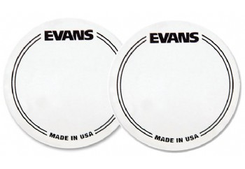Evans EQPC1 EQ Clear Plastic Single Patch - Bas Davul Deri Koruyucu (2 adet)