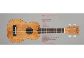 Kala Soprano Exotic Mahogany - Soprano Ukulele
