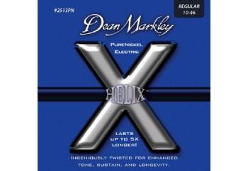 Dean Markley Helix Pure Nickel - REG Takım Tel - Elektro Gitar Teli 010-46
