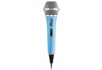 IK Multimedia iRig Voice Blue - Akıllı Telefon ve Tabletler için Vokal Mikrofonu