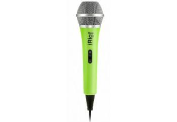 IK Multimedia iRig Voice Green - Akıllı Telefon ve Tabletler için Vokal Mikrofonu